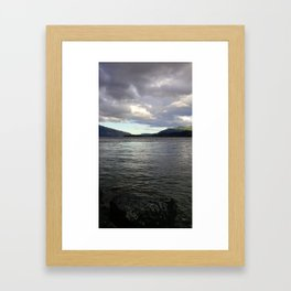 (#79) Under The Storm Framed Art Print
