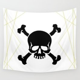 Fabulously Dead on the Inside Wall Tapestry