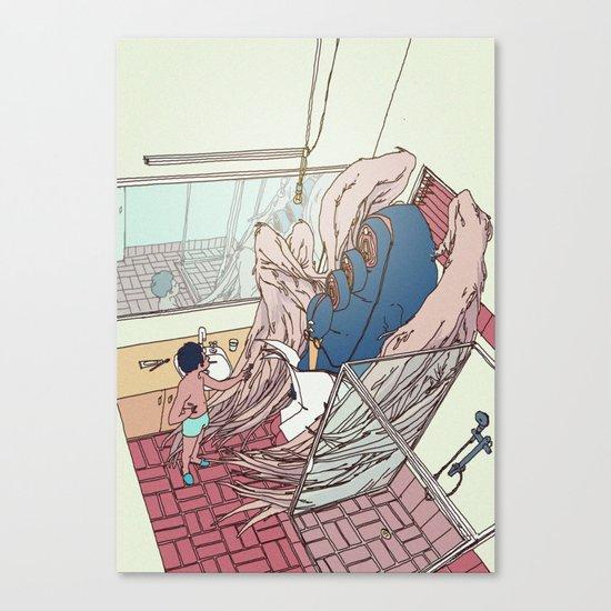 domesticity Canvas Print