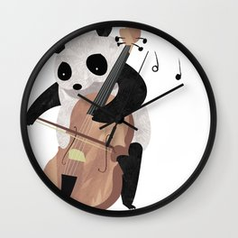 Mr. Paws Wall Clock