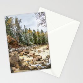 Uncompahgre River in Fall Stationery Cards