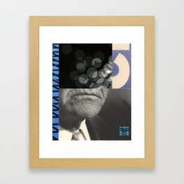 Ionic Frown Framed Art Print