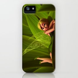 Leaves Fairy iPhone Case