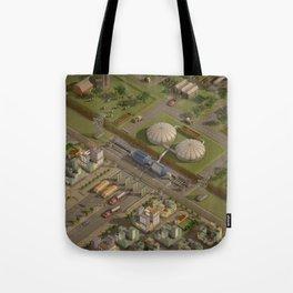Biogas City Tote Bag