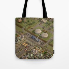 Biogas City Tote Bag