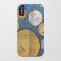 kandinsky iPhone & iPod Cases featuring doodling banjos by Beth Jorgensen