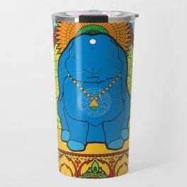 Buddha Bun Travel Mug