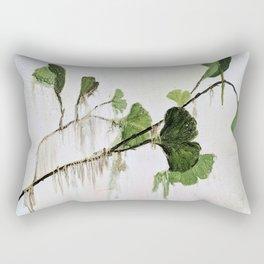 Distressed Verdant Rectangular Pillow