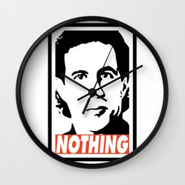 A show about nothing Wall Clock