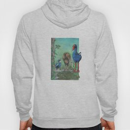 The legend of the Kiwi, illustration, Maori tale, New Zealand Hoody
