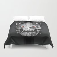 demon Duvet Covers featuring Demon by Luca Giobbe