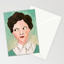 Miss Unbelievably Angry Stationery Cards