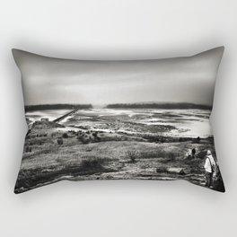 Cramond, Scotland Rectangular Pillow