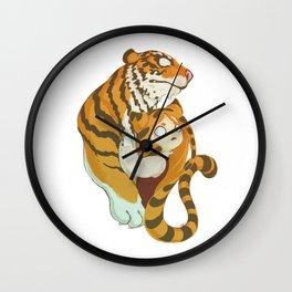 Tiger With No Eyes Wall Clock