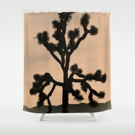 JOSHUA TREE - VINTAGE CALIFORNIA Shower Curtain