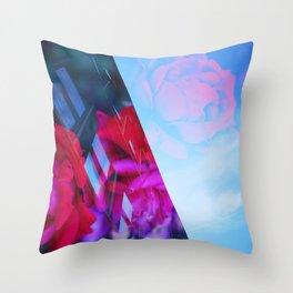 Hyperstimulation Blue - Detroit 0610 Throw Pillow