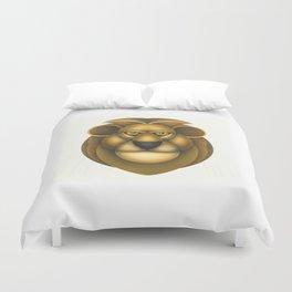 Compasses-lion Duvet Cover