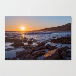 White's Point Sunset Canvas Print