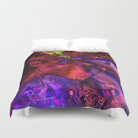 "princess Duvet Covers featuring "" Princess "" by shiva camille"