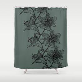Stargazer Lei Shower Curtain