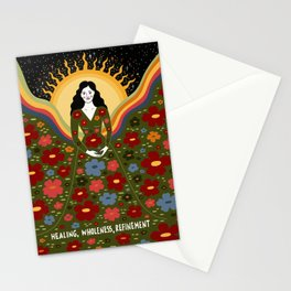 Healing, wholeness, refinement Stationery Cards