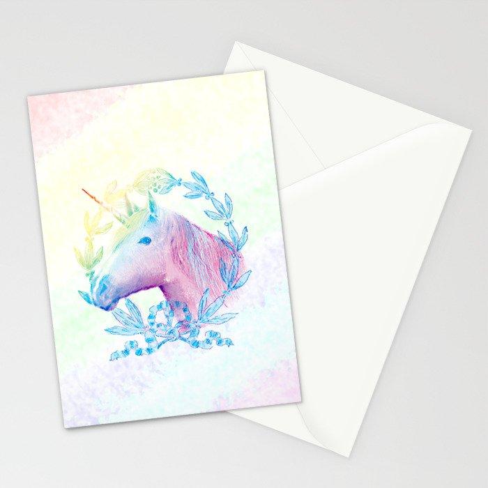 Unicorn IV Stationery Cards