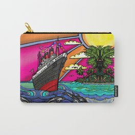 Queen Mary and Dolphins Carry-All Pouch