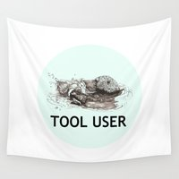 tool Wall Tapestries featuring Tool User by ewig