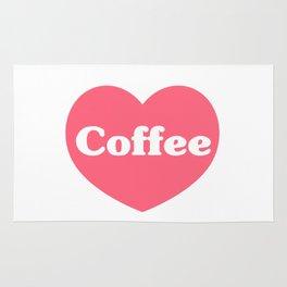 I Love Coffee Rug
