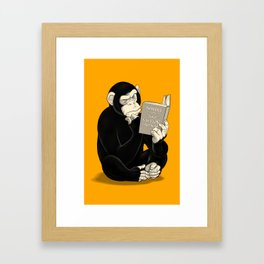 Origin of Species Framed Art Print