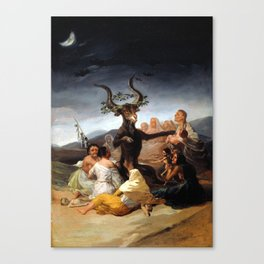 Witches Sabbath Canvas Print