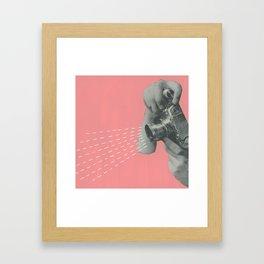 Say Cheese (III) Framed Art Print