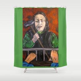 Misery Shower Curtain