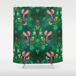 Maximalism Shower Curtain