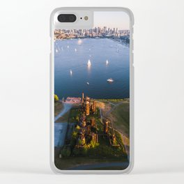 Gas Works and Lake Union Clear iPhone Case
