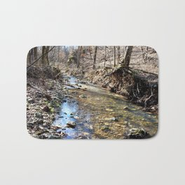 Alone in Secret Hollow with the Caves, Cascades, and Critters, No. 10 of 20 Bath Mat