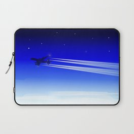 Jet Heading Home Laptop Sleeve