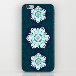 Rock Climbing Mandala iPhone Skin