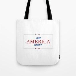 Keep America Great KAG Trump2020 Tote Bag