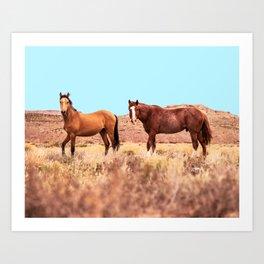 Horses #society6 #decor #buyart Art Print