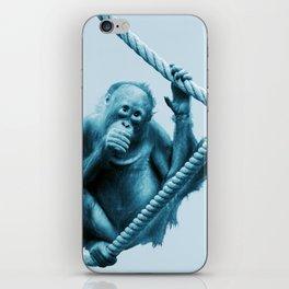 Hanging around iPhone Skin