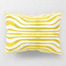 Rippled Gold Pillow Sham