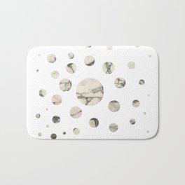 Marble dots I. Bath Mat
