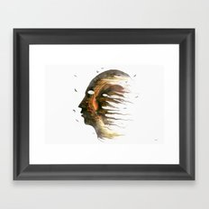 Invisible Demons  Framed Art Print