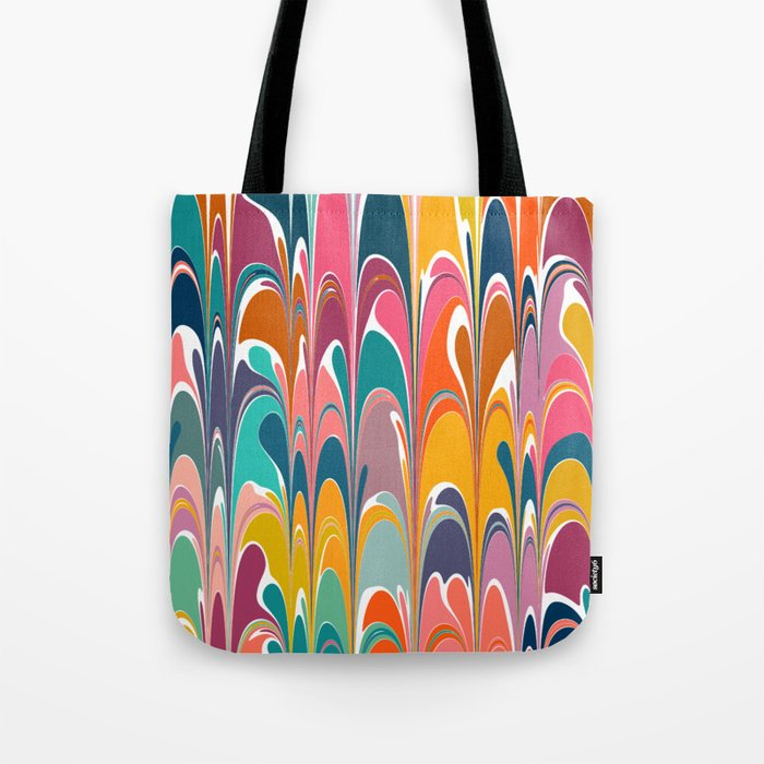 Colorful Abstract Design 12 Tote Bag