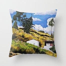 Paisaje en Picaihua Throw Pillow