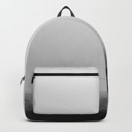 The Old City - Black and White Backpack