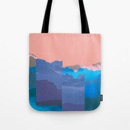 Mountain Mix 17.1 Tote Bag