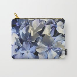 Blue Hydrangea flower Carry-All Pouch