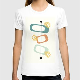 Mid Century Modern Shapes 02 T-shirt